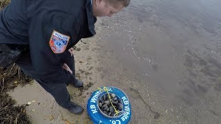 Shellfish Police Officer, Clamming, and My Best Seafood Recipe!