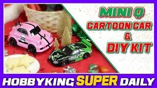 1/24 Mini Q Karikatür Araba ve DİY Kit - HobbyKing Super Daily