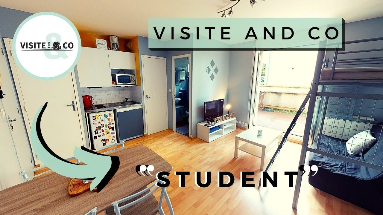 Student Studio Meuble A Louer A 2 Minutes A Pied De L Universite De Caen Youtube