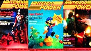 Top 10 Nintendo Power Covers