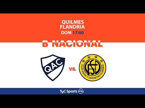 Primera B Nacional: Quilmes vs. Flandria   #BNacionalenTyCSports