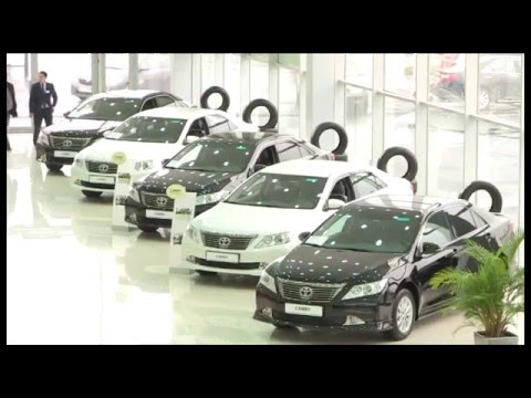 В Южном Казахстане упали продажи автомашин