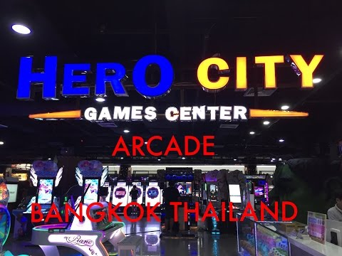 HERO CITY ARCADE BANGKOK THAILAND