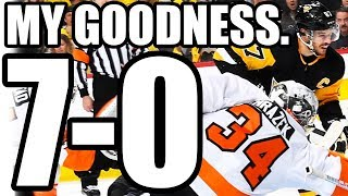 Re: Penguins 7-0 Shutout VS Flyers... My Goodness. (Yeah, I Said The Flyers Would Make The Finals)