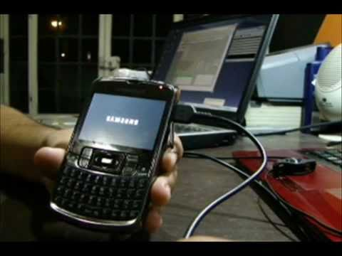 Instalar Windows Mobile 6.5 En SAMSUNG SGH-i637 [Messenger Phone]