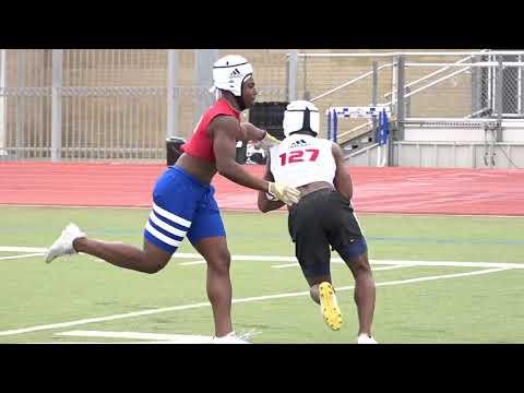 WR vs DB 1 on 1's Rivals Camp Series Houston 2018