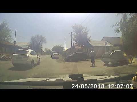 Авария в Орске 24,05,18 (ул.Маркса х 1 мая)