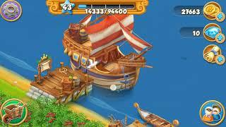 #fishing #naturegames #farmgames Village and farm game | Fishing area | screenshot 3
