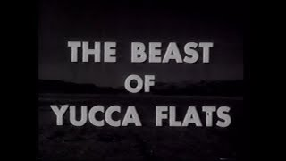 The Beast of Yucca Flats (1961) movie trailer. HD