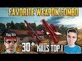 FAVORITE WEAPON COMBO - Shroud and Chad 30+ kills win DUO FPP GAME - PUBG HIGHLIGHTS TOP 1 #76