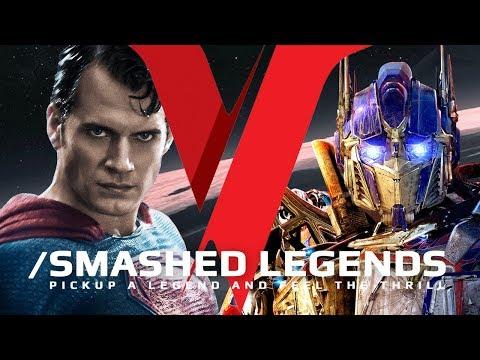 Superman VS Transformers - SMASHED LEGENDS  ✔
