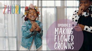 DIY Flower Crowns with Zhuri James