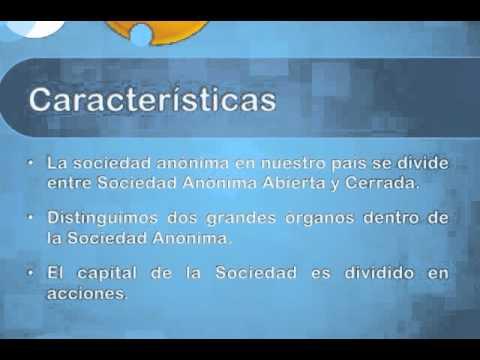 Abogado Sociedad Anónima SociedadChile.cl - YouTube