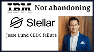 Stellar network payment volume doubles. IBM not abandoning Stellar.  Answers Re: Lund and Yong.