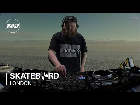 Skatebård Boiler Room London DJ Set
