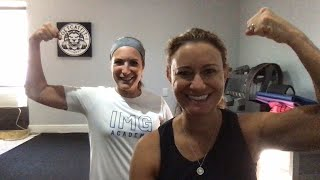 Tabata Tuesday with CAT & Meg
