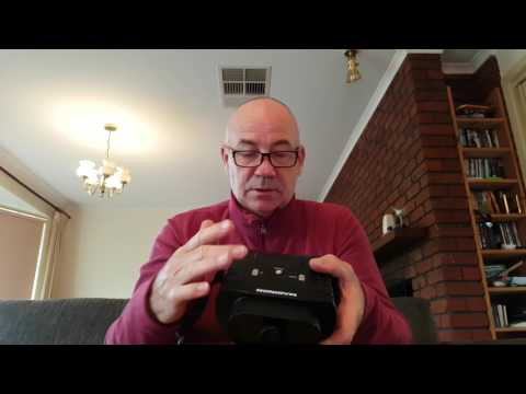 Maginon night vision device unboxing