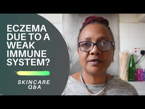 Is Eczema Due to a Weak Immune System?