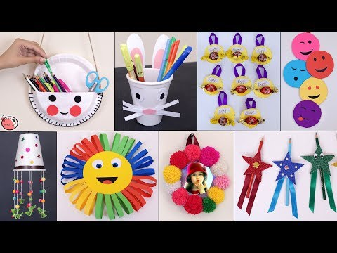 11 Easy Usefull ... DIY Craft Ideas for kids || Best Out of Waste Ideas