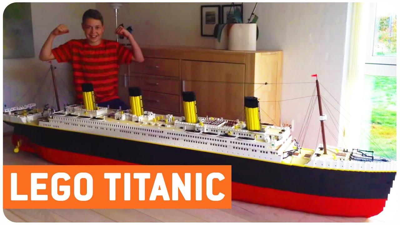 Big Lego Bricks Titanic Lego I Ll Never Let Go Youtube