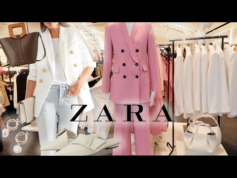 ZARA Shopping Vlog! Come Shop With Me ♡ All The Best NEW ZARA Pieces For Spring!