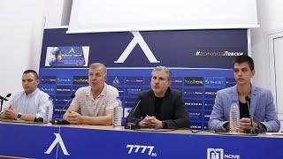 Пълен запис от пресконференцията, представяща клипа Един за всички, всички за Левски