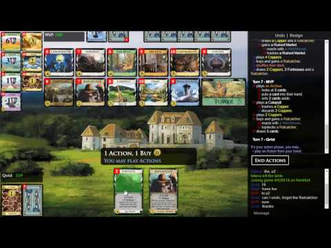 Dominion Online 009 (Curses, Ruins and Discarding)