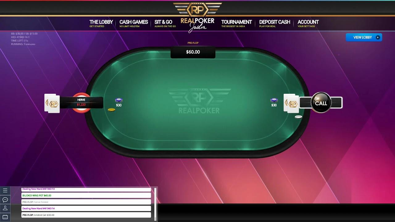 Turbo Texas Holdem slow play to win play - YouTube