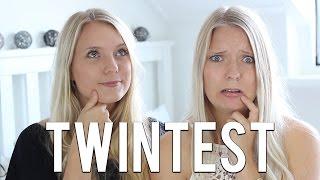 ZIJN WIJ WEL TWEELING  Twintest  Girlsworldproblems