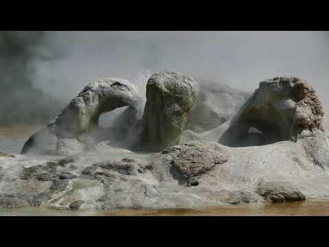 Yellowstone Old Faithful Geysers