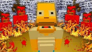 Homer Simpson Sees The Demons | The Simpsons | Minecraft Xbox