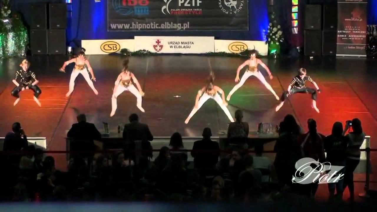 Krajowe Mistrzostwa IDO Disco Dance i Freestyle Elbląg 2011   mini formacje 12 15 lat