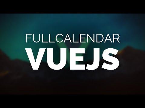 Vue & Fullcalendar thumbnail