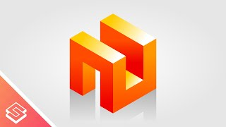 Inkscape Tutorial: 3D Abstract Cube Concept Logo Design
