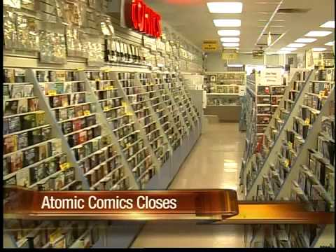 Valley comic book store chain -- out of business