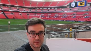 PRIVATE TOUR OF WEMBLEY!!!