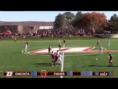 Men's Soccer vs St  John Fisher - NCAA 1st round 2016