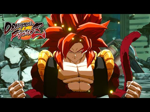 Dragon Ball FighterZ - Gogeta [SS4] Trailer
