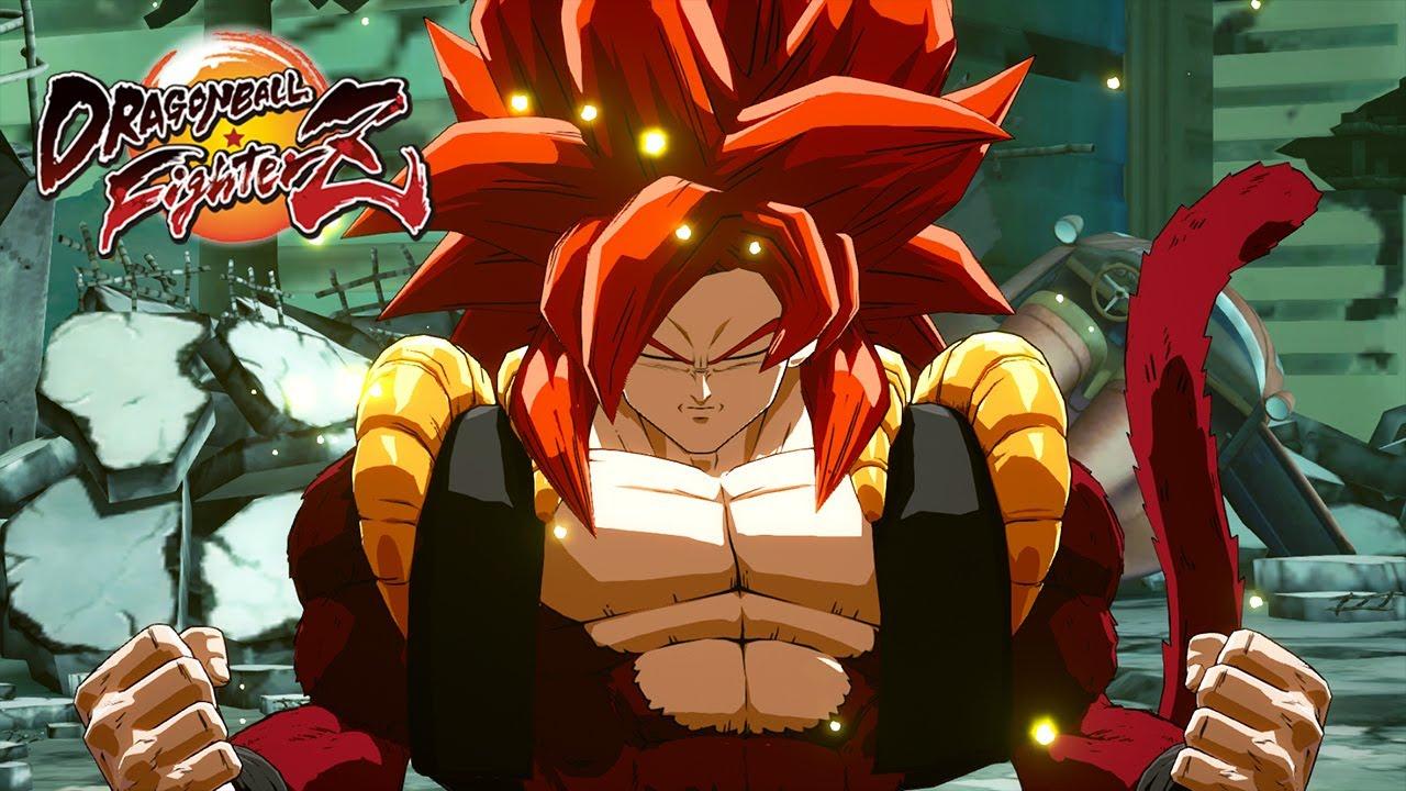 Dragon Ball FighterZ - Gogeta [SS4] Trailer
