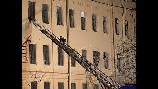 В Питере рухнуло здание университета