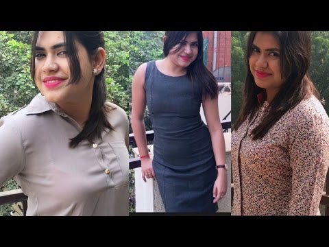 What to wear to work / office | OFFICE LOOK BOOK | 3 easy fashionable formal wear
