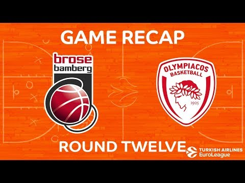 Highlights: Brose Bamberg - Olympiacos Piraeus