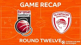 Highlights: Brose Bamberg - Olympiacos Piraeus