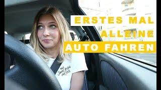 Erstes Mal alleine Auto fahren I HOW SHE DOES mit Führerschein