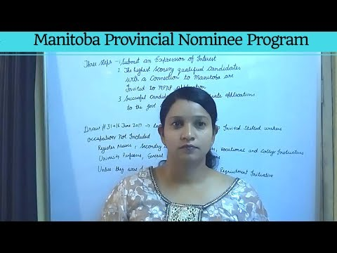 Manitoba Provincial Nominee Program 2017: How to apply for the MPNP