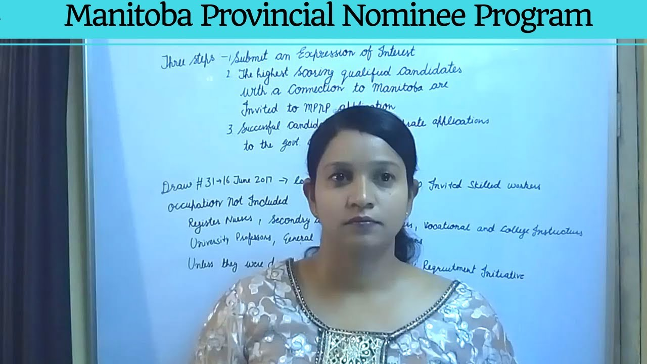 how to get a provincial nominee