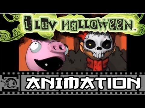 i luv halloween cg 1 thats the spirit - I Luv Halloween Manga