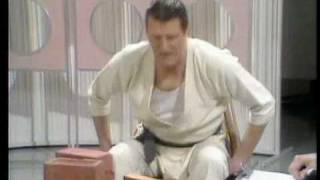 Tommy Cooper's karate class(Tommy Cooper as a black-belt karate expert. Note his amazing reflexes. Very inspirational., 2007-09-01T15:37:41.000Z)