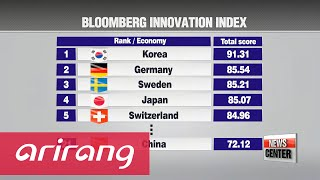 Korea tops Bloomberg's Innovation Index in 2016