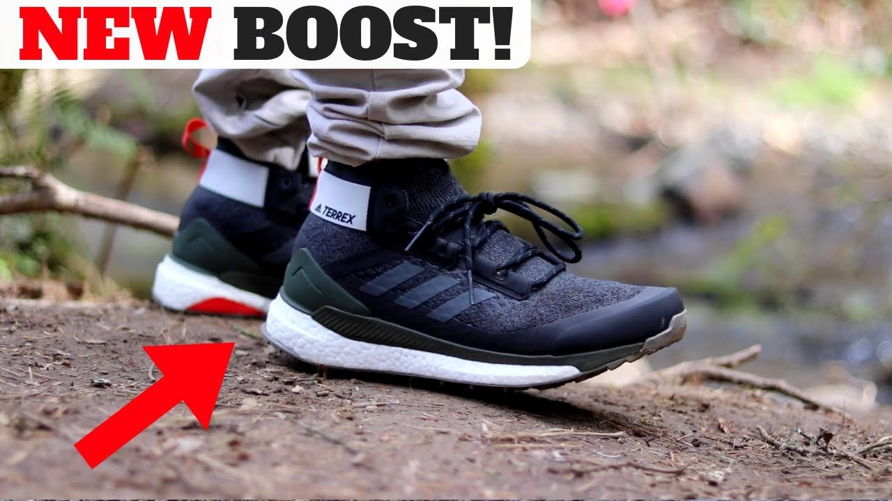 8811c89e3 BEST NEW SLEEPER adidas BOOST SHOES in 2019 ! adidas TERREX HIKER Review